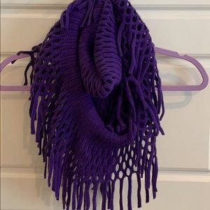 🛍 Purple Infinity Scarf